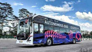 نخستین اتوبوس برقی و خودران ولوو سایت 4s3.ir