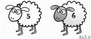 چطور یک گوسفند کارتونی زیبا و ساده بکشیم؟ سایت 4s3.ir
