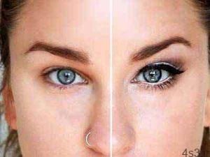 چگونه با آرایش چشم های ریز را درشت تر نشان دهیم؟ سایت 4s3.ir