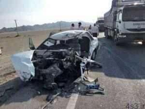 ۴ کشته در تصادف کامیون و پراید سایت 4s3.ir