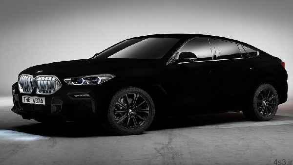 BMW سیاهترین خودروی جهان را ساخت سایت 4s3.ir
