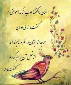 اشعار زیبا و خواندنی سعدی شیرازی سایت 4s3.ir