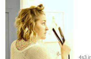 با اتوی مو، به آسانی موهای تان را فر کنید سایت 4s3.ir