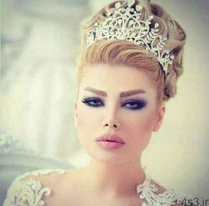 جدیدترین مدلهای آرایش موی عروس سایت 4s3.ir
