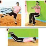 حركاتی برای تقویت عضلات ران + تصویر سایت 4s3.ir