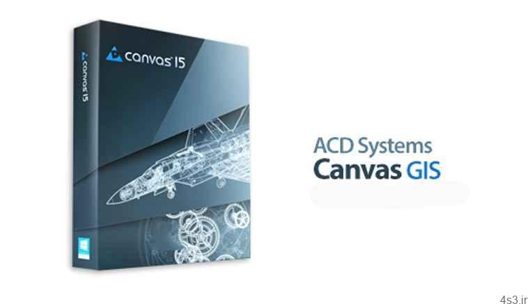 دانلود ACD Systems Canvas GIS v15.0.1764 - نرم افزار طراحی و ویرایش تصاویر سایت 4s3.ir