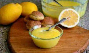 دسر زرده تخم مرغ با شربت میوه سایت 4s3.ir