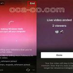 ذخیره ویدئوهای پخش زنده اینستاگرام در گوشی سایت 4s3.ir
