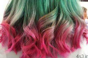 رنگ مو : زیباترین رنگ موهای فانتزی برای تابستان !! سایت 4s3.ir