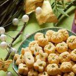 شیرینی گردویی مینیاتوری مناسب عید نوروز سایت 4s3.ir