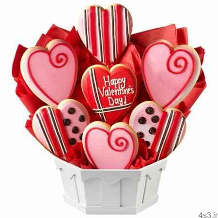 تهیه شیرینی شیشه ای قلبی برای روز ولنتاین - طرز تهیه شیرینی شیشه ای قلبی برای روز ولنتاین