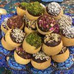 طرز تهیه شیرینی پسته ای و بادامی سایت 4s3.ir