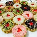 طرز تهیه شیرینی کره ای قرمز برای عید نوروز سایت 4s3.ir