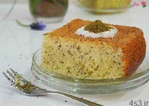 طرز تهیه کیک لیمو با تخم خرفه سایت 4s3.ir