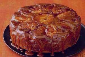 طرز تهیه کیک کدو حلوایی و سیب کاراملی سایت 4s3.ir