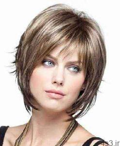 مدل کوتاهی جلوی مو زنانه و دخترانه سایت 4s3.ir