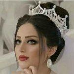 مدل مو عروس با تاج ملکه ای و فرحی جدید سایت 4s3.ir