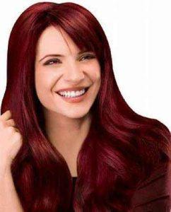 مدل مو و رنگ موی عنابی سایت 4s3.ir