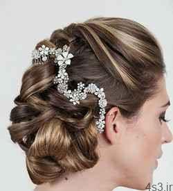 مدل های شنیون مو، مخصوص عروس خانم ها سایت 4s3.ir