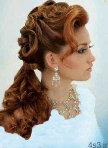 منحصر به فرد ترین مدل مو های بلند ، ویژه ی عروسی و نامزدی سایت 4s3.ir