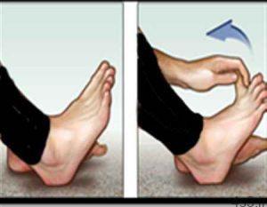 ورزش برای درد كف پا و پاشنه سایت 4s3.ir