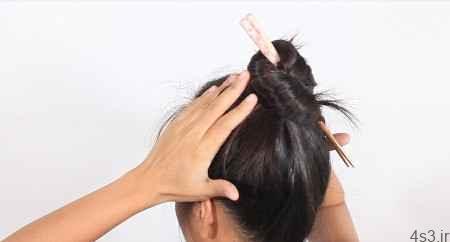 کاربردهای جالب سنجاق سر برای درست کردن موها