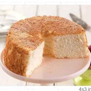 کیک بدون فر روی اجاق سایت 4s3.ir
