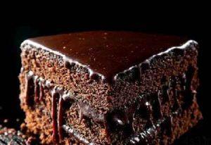 کیک شکلاتی گرم سایت 4s3.ir