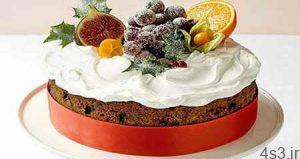 کیک میوه ای کلاسیک سایت 4s3.ir