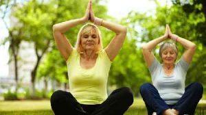 یوگا برای سالمندان سایت 4s3.ir