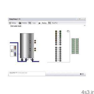 دانلود EasyVeep v2.26 Demo - نرم افزر شبیه سازی دو بعدی PLC سایت 4s3.ir