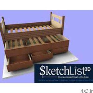 دانلود SketchList 3D v4.0.3675 - نرم افزار طراحی سه بعدی در حرفه نجاری سایت 4s3.ir