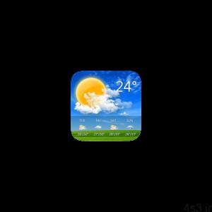 GO Weather Premium 6.162 دانلود نرم افزار آب و هوا اندروید سایت 4s3.ir