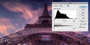 آموزش استفاده از ابزار Levels در فتوشاپ برای بهبود رنگ تصویر سایت 4s3.ir