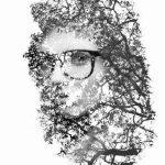 آموزش ایجاد یک تصویر هنری با فتوشاپ سایت 4s3.ir