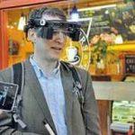 ابداع عینک هوشمند برای افراد کم بینا سایت 4s3.ir