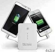 ابزاری برای شارژ تبلت و موبایل در سفر سایت 4s3.ir