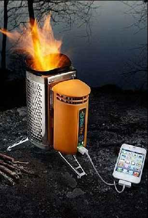 اجاق گازی که تلفن همراه شارژ میکند! سایت 4s3.ir