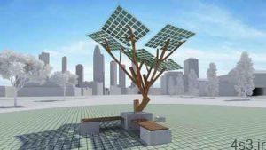 درختی با قابلیت ارائه وایفای و شارژ تلفن سایت 4s3.ir