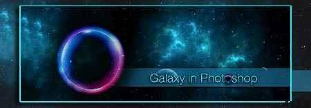 ساخت کهکشان در فتوشاپ سایت 4s3.ir