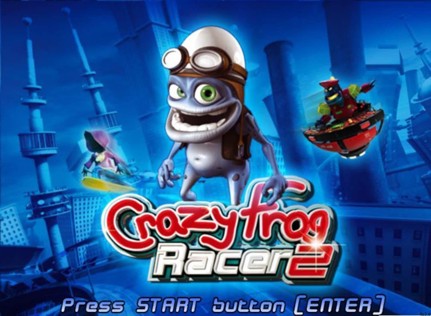 Crazy Frog Racer v2 بازی مسابقات قورباغه دیوانه e1596282118121 - دانلود Crazy Frog Racer v2 - بازی مسابقات قورباغه دیوانه