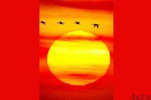 تصاویر غروب خورشید - سایت 4s3.ir