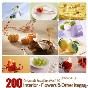 مجموعه عکس های وسایل تزیینی Datacraft Sozaijiten Vol.170 Interior Flowers Other items 300x300 - دانلود مجموعه عکس های وسایل تزیینی - Datacraft Sozaijiten Vol.170 Interior - Flowers & Other items
