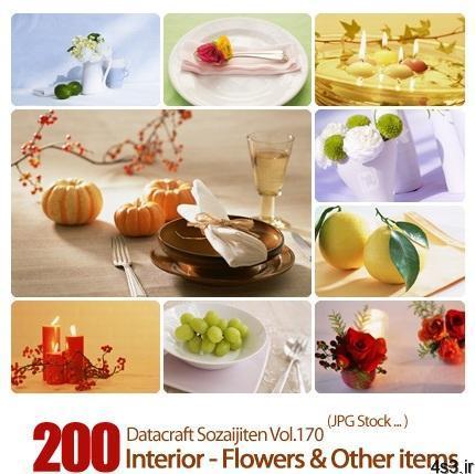 مجموعه عکس های وسایل تزیینی Datacraft Sozaijiten Vol.170 Interior Flowers Other items - دانلود مجموعه عکس های وسایل تزیینی - Datacraft Sozaijiten Vol.170 Interior - Flowers & Other items