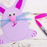 rabbit craft 09 150x150 - آموزش ساخت کاردستی خرگوش با مقوا/ تصاویر