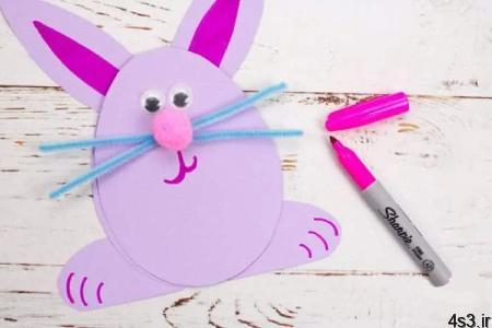 rabbit craft 09 - آموزش ساخت کاردستی خرگوش با مقوا/ تصاویر