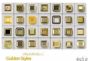استایل فتوشاپ استایل های طلایی Golden Styles 300x210 - دانلود استایل فتوشاپ: استایل های طلایی - Golden Styles