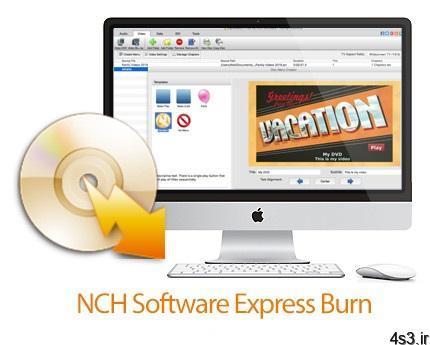 NCH Software Express Burn v9.07 MacOSX نرم افزار رایت سریع سی دی و دی وی دی برای مک - دانلود NCH Software Express Burn v9.07 MacOSX - نرم افزار رایت سریع سی دی و دی وی دی برای مک