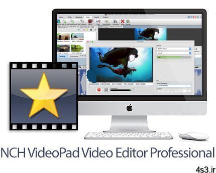 NCH VideoPad Pro v8.40 MacOSX نرم افزار ویرایش فایل های ویدئویی برای مک - دانلود NCH VideoPad Pro v8.40 MacOSX - نرم افزار ویرایش فایل های ویدئویی برای مک