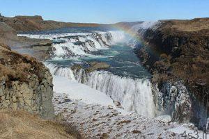 gullfoss falls iceland 22 300x200 - آبشار گولفوس یکی از از آبشارهای منحصربهفرد